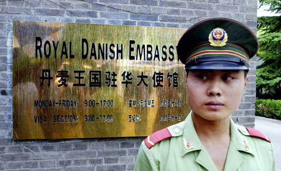 danske ambassade beijing